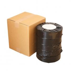 券売機用感熱ロール紙57.5mm×300M×35mm ピンク ミシン目入(5巻入)